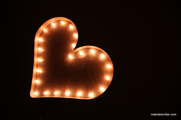 Decorate For Valentines Day With Vintage Marquee Lights