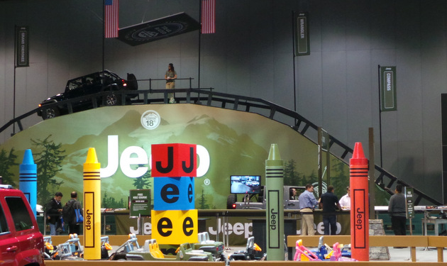 Camp Jeep For Kids Of All Ages Chicago Auto Show #cas13 #smp13