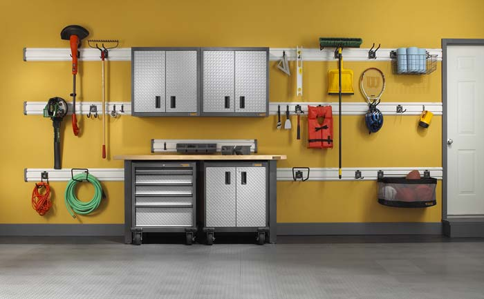 Organize The Garage From Top to Bottom
