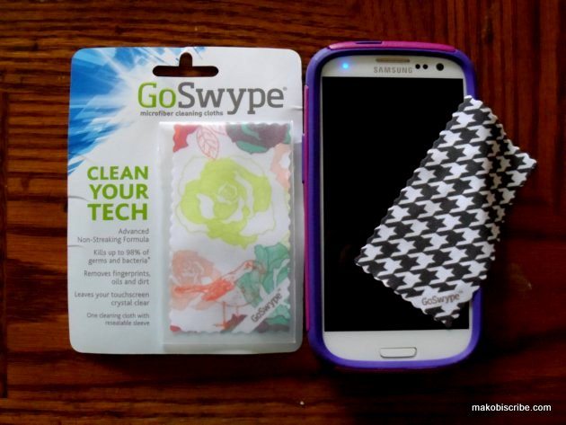 Keep Touch Screens Clean With GoSwype