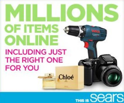 Enjoy One Stop Shopping And Get #MoreatSears