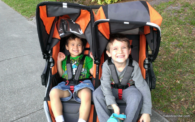 Two Kids? You Need A Side By Side Stroller From BOB #BOBMoms
