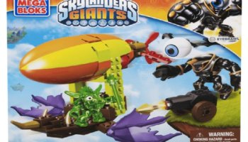 Teach Your Kids To Share With Mega Bloks®Skylanders Giants™ Zeppelin Air Assault