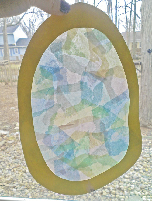 Easy Easter Crafts For Kids Sunlight Easter Egg Catchers