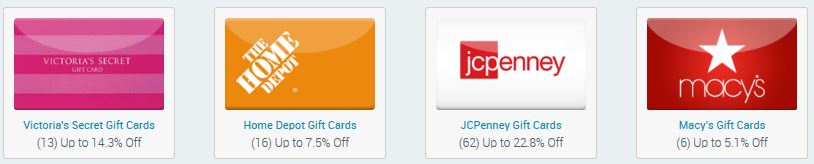 Get Gift Cards at Discounted Prices At Raise.com