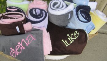 Personalized Baby Blankets Make The Perfect Gift