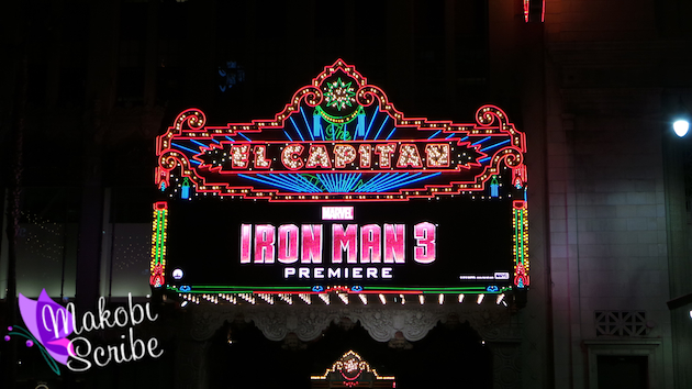 See A Film In Style At The Hollywood Movie Theater El Capitan #IronMan3Event