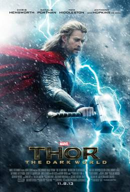 Thor: The Dark World Is Coming! Find Out More At #IronMan3Event
