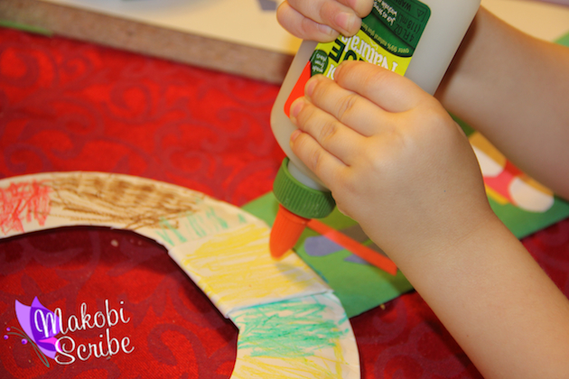 Paper plate craft preschool (2)