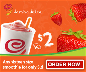 Free Jamba Juice Smoothie Coupon!