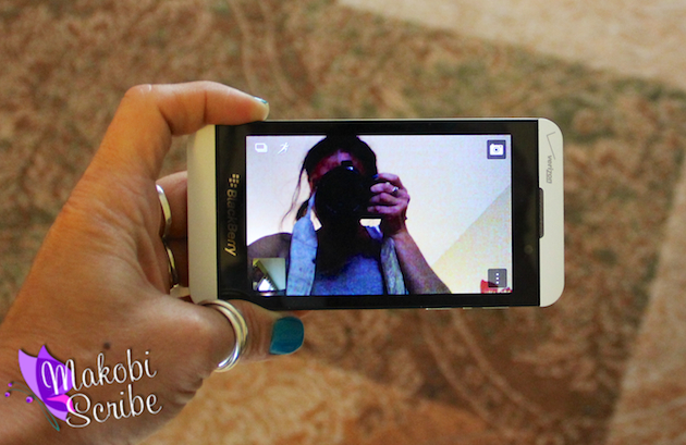 Using The Time Shift Camera Photos – Editing Effects On The BlackBerry Z10 #VZWA