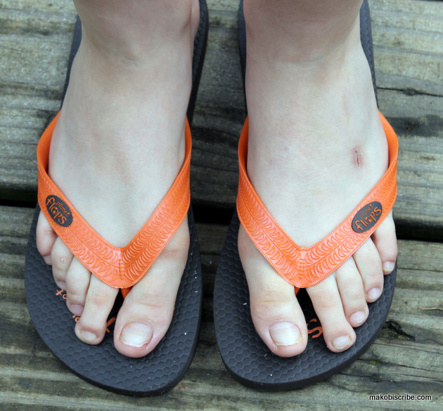 Fashionable Flip Flops For Your Family