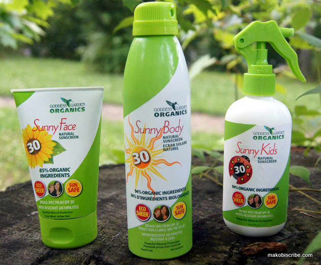 All Natural Sunscreen For The Whole Family