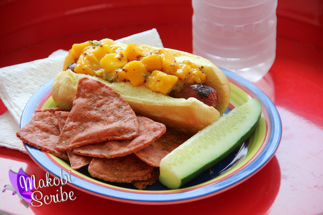 Grilled Hot Dogs With Mango Relish Recipe