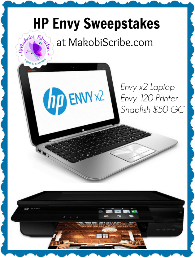 HP Envy 2 Sweepstakes