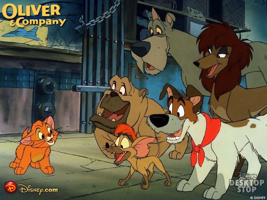 Disney's OLIVER AND COMPANY on Blu-Ray