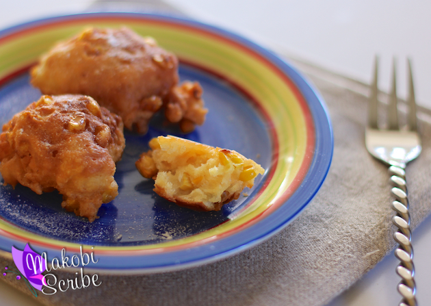 Fried Corn Fritters Recipe #CansGetYouCooking