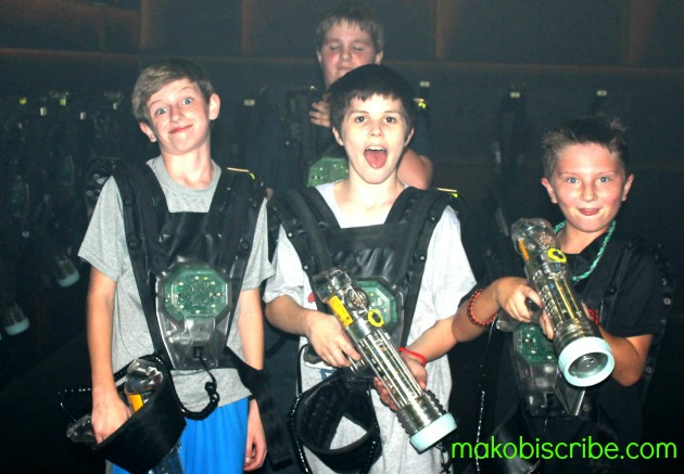 Party At The Knoxville Laser Quest On Your Birthday