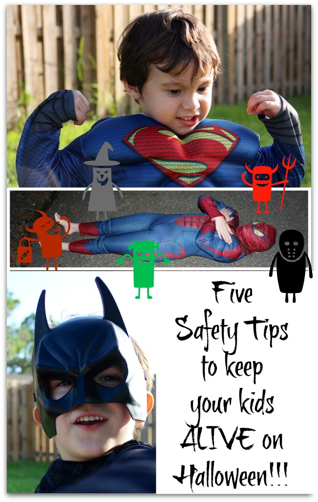 Five Tips To Keep Your Kids Alive on Halloween