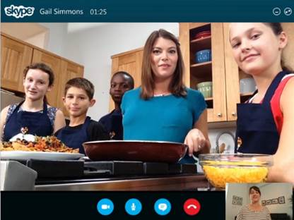 Teaching Kids About Nutrition Through Skype