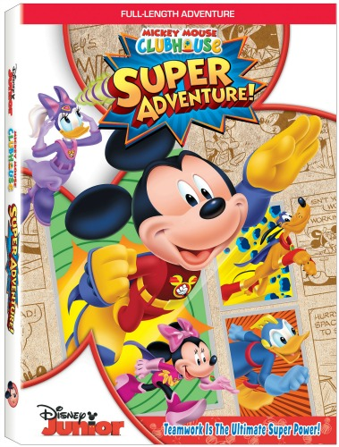 Mickey Mouse Clubhouse: Super Adventure Is Now On DVD
