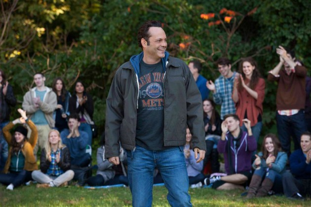 Delivery Man With Vince Vaughn Delivers Big Smiles