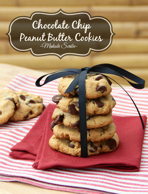 Chocolate Peanut Butter Cookies Pinterest