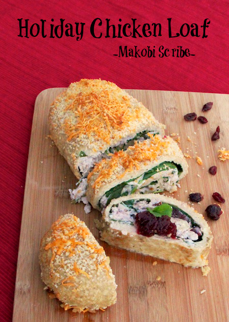 Holiday Chicken Loaf Pinterest