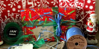 How To Make Easy Holiday Bows Using Wraphia