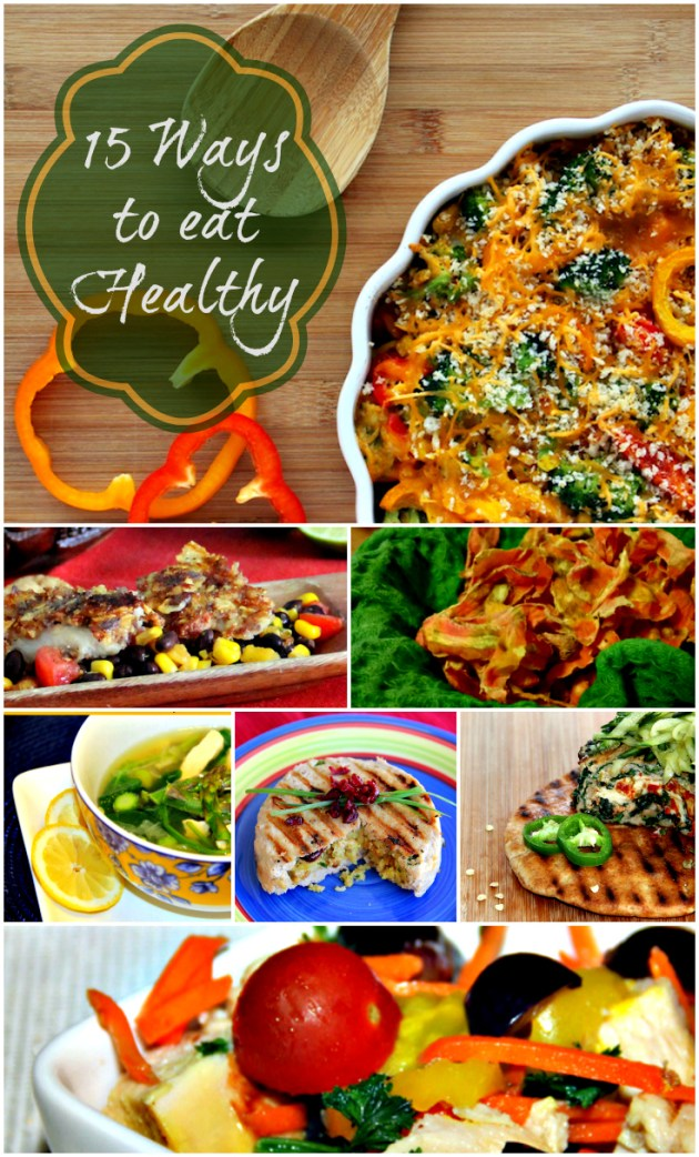 15 ways to eat healthy
