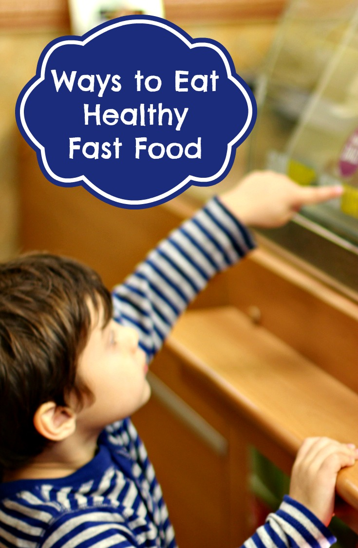 How To Eat Healthy For Kids: Saving Calories At Fast Food Restaurants  [infographic]