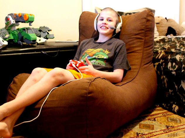 Henry Playing Xbox