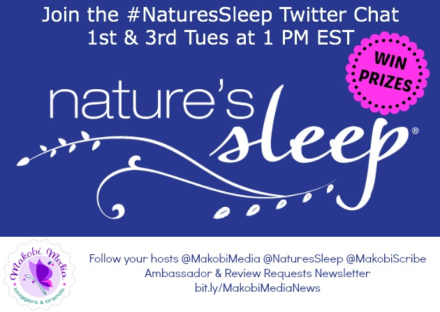 #NaturesSleep Twitter Chat