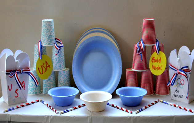 How To Throw An Olympic Themed Eco Friendly Party