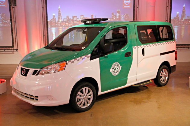 nissan chicago taxi