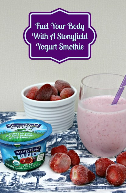 Stonyfield Yogurt Smoothie Pin Image