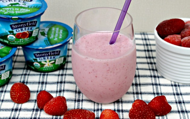 Stonyfield Fresh Fruit Smoothie