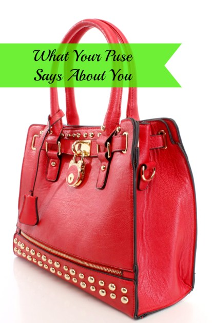 What Your Purse Says About You Pin