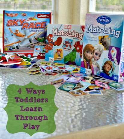 toddlers learn through play