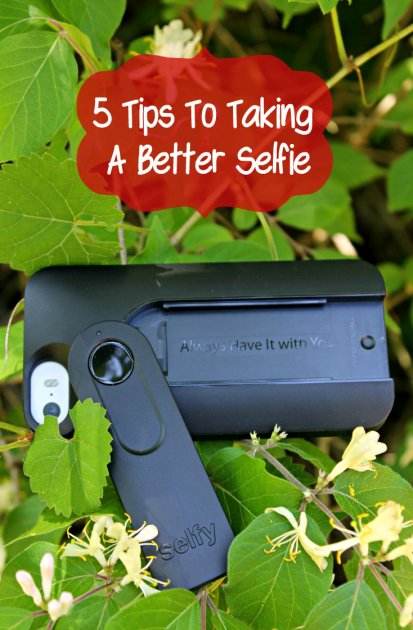 5 Tips To Taking A Better Selfie Pin