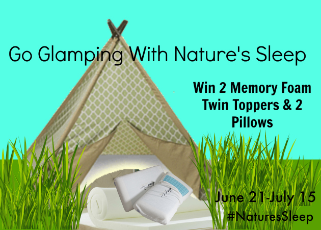 Go Glamping With Nature's Sleep Sweepstakes