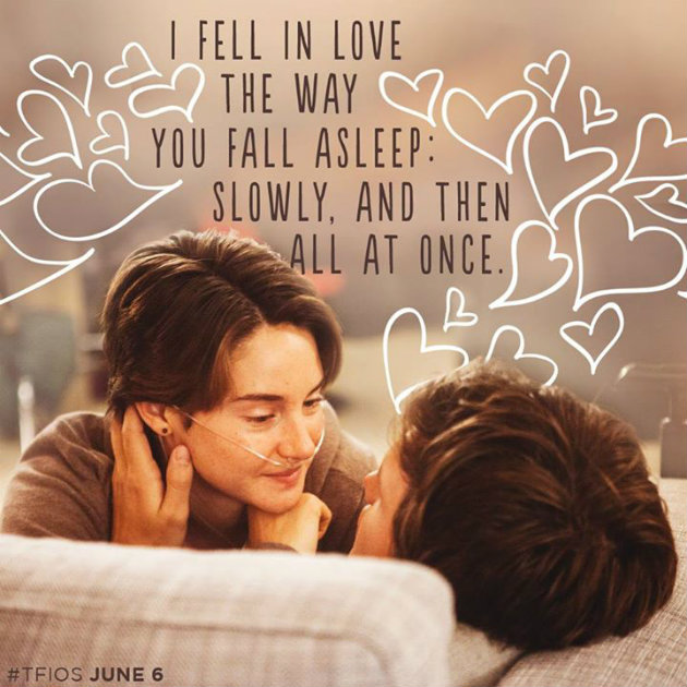 My Top Five Love Stories Of All Time #TFIOS