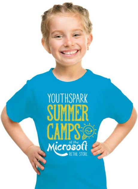 free summer camp girl