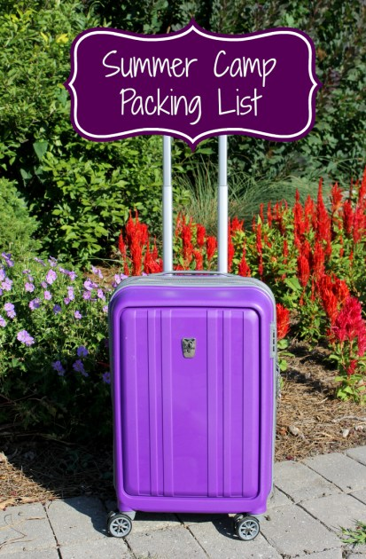 Summer Camp Packing List pin