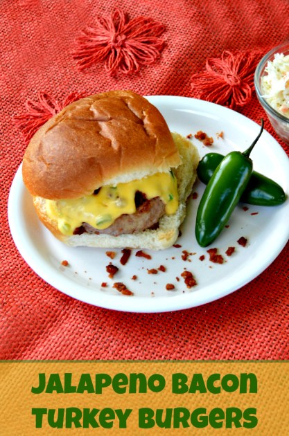 Jalapeno Bacon Turkey Burgers