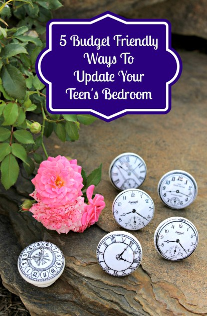 5 Budget Friendly Ways To Update Your Teen's Bedroom pin