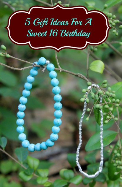 5 Gift Ideas For A Sweet 16 Birthday pin