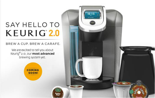 Are You Ready For The New Keurig 2.0?