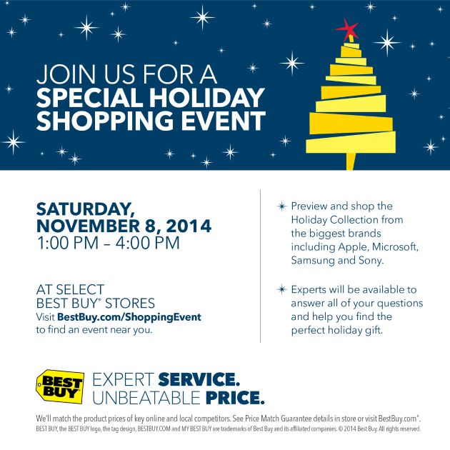 Let Best Buy Make Holiday Shopping Easier #BBYShoppingEvent