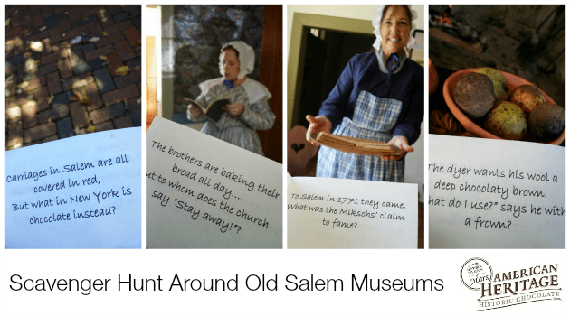old salem scavenger hunt